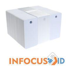 Fotodek Specials Blanco 760 Mic PVC - CR80 Tamaño - 3 Up Llave Placas - Paquete