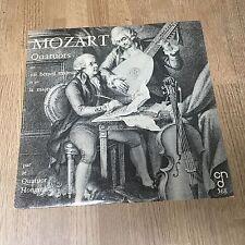 LP Mozart Quatuor Hongrois K.428 - K. 464 Szekely Moskowsky Palotai Koromzay *