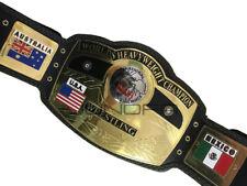 NWA Domed Globe World Heavyweight Wrestling Championship Replica Title Belt