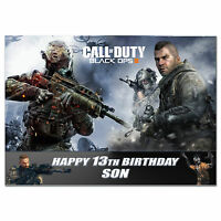 761; Personalised Birthday card; Call of Duty: Black Ops 3; for any age name