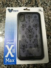 Disney 50th Anniversary Haunted Mansion Wall Paper Apple Iphone Xs Max Case NEW