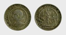 s537_45) San Marino Vecchia Monetazione (1864-1938) 5 LIre 1932 TONED