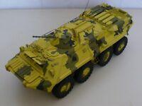 Modelik 06/02 - Russischer Panzerspähwagen BTR-80    1:25  mit Lasercutteilen