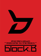 BLOCK B [WELCOME TO THE BLOCK] 2nd Mini Album CD+Photo Book K-POP SEALED