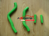 Green For Kawasaki KX125 KX 125 2003-2007 2004 2005 06 07 Silicone radiator hose