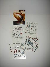 American Girl Temporary Tattoos New Sealed Package Great stocking stuffer