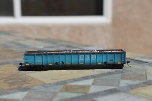 Atlas HO Thrall 2743 Gondola, CW/OSM with load weathered