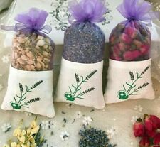 Natural Rose Flowers Jasmine Lavender Bud Dried Flower Sachet Bag Aromatherapy