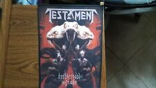 TESTAMENT,BROTHERHOOD OF THE SNAKE,SEW ON SUBLIMATED LARGE BACK PATCH