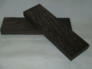 Knife Scales RARE WENGE Book Matched