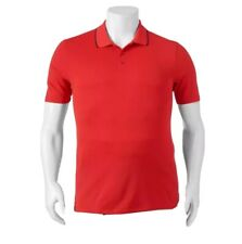 Fila Sport Golf Mens Red Athletic Fit Wicking Polo Shirt Size Xl Tall