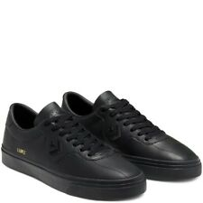 Cons Shoes Leather Louie Lopez Pro Low Black Converse Skateboard Sneakers