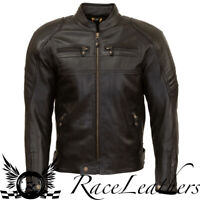 MERLIN ODELL MENS LEATHER AIR BLACK MOTORCYCLE MOTORBIKE CE APPROVED JACKET
