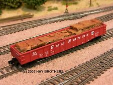 Hay Brothers 1967-1978 CRUSHED AUTOS AND SCRAP LOAD - Fits Micro-Trains 50' Gons