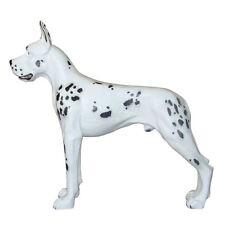 DEUTSCHE DOGGE lebensgroß 125 cm HUND stehend Hundefigur Garten Deko Tier Figur