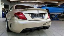 MERCEDES CL W216 TRUNK SPOILER  BLACK SERIES look  +++NEW+++NEW+++NEW+++