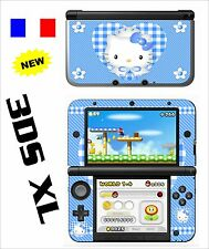 SKIN STICKER AUTOCOLLANT DECO POUR NINTENDO 3DS XL - 3DSXL REF 79 KITTY