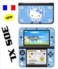 SKIN STICKER AUTOCOLLANT DECO POUR NINTENDO 3DS XL - 3DSXL REF 79 KITTY