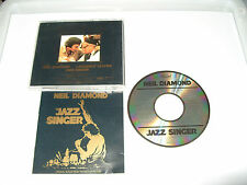 NEIL DIAMOND-THE JAZZ SINGER -15 TRACK CD-1984-NO BARCODE-CD MADE IN JAPAN-
