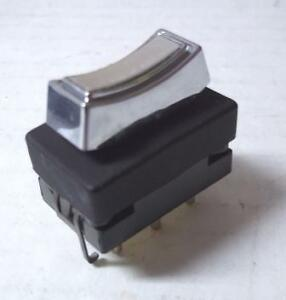 1968 1969 Lincoln and 1968 - 1970 Ford Thunderbird Single Window Switch 6 pin