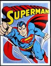Superman Tin Sign - 12.5x16