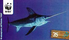 REWE WWF Sticker Nr. 35 Schwertfisch