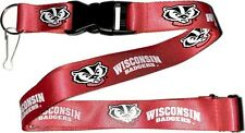 Wisconsin Badgers Safety Lanyard Keychain