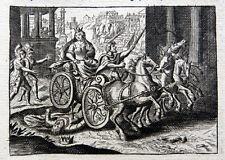 Roma romaníes Campidoglio tullia cabalguen sobre cadáver de su padre Servius Tullius