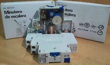 Temporizador Minutero Escalera 16A 220v,Automatico Carril Din,1 Modulo 1-7 min