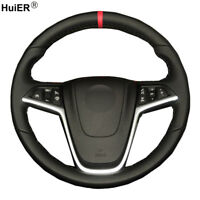 For Opel Mokka 2013 - 2016 Insignia Astra J Hand Sewing Car Steering Wheel Cover