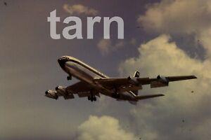 35mm slide aeroplane airplane London  Heathrow  707 1960s r193