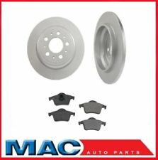 XC70 S60 V70 S80 (2) Rear Brake Rotors & Pads