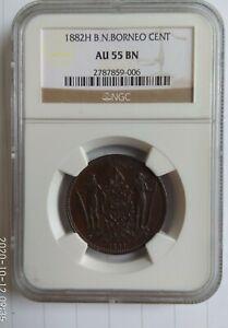British North Borneo 1882 1 Cent Coin