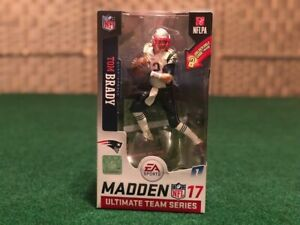 Tom Brady NFL Madden 17 Ultimate Team Series McFarlane Sports Figure Patriots