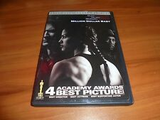 Million Dollar Baby (DVD, 2005, 2-Disc Set, Full Frame)  Hilary Swank Used