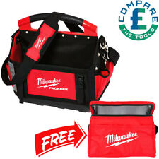 Milwaukee 4932464085 40cm Packout Tote Toolbag With Can Cooler Bag