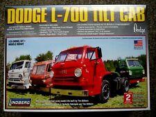 Lindberg Dodge L-100 Tilt Cab Model Truck Kit 1/25 Scale Factory Sealed