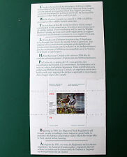 Canada 1985 Wildlife Conservation Stamp in Folder Un.Mint (MNH) (E)