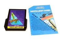 Artillery Duel (Atari 2600, 1983) Cart & Manual - Tested