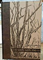 1958 A Walk With Me By Gwen Frostic ~ First Edition ~ Presscraft Papers ~