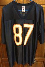 Chicago Bears NFL Muhsin Muhammad # 87 Blue Home Jersey Men's XL Extra Large