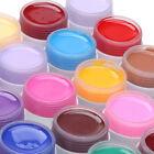 Pure Color DIY UV Nail Polish Gel Decor For Nail Art Tips Manicure Decoration