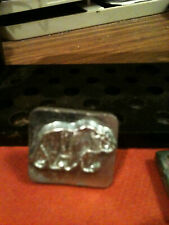 Vintage Tandy Craftool 2D/3D stamp #8367 Bear