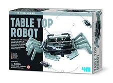 Gioco Scientifico costruisci robot da tavolo - 4M Table top robot