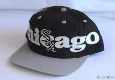 CHICAGO WHITE SOX Vintage Hat 90's Snapback Baseball Cap NWT Logo 7