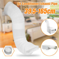 160mm Flexible Air Conditioner Spare Parts Exhaust Pipe Vent Hose Tube  Outlet