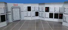 Blockade Runner Hallway Diorama Walls 2 pk Star Wars Hasbro Kenner Free Shipping