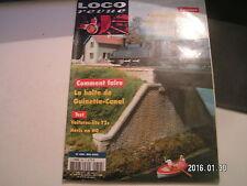 **a Loco Revue n°658 La grue Bondy LMJ en H0 / cèdre en fil élecrique torsadé