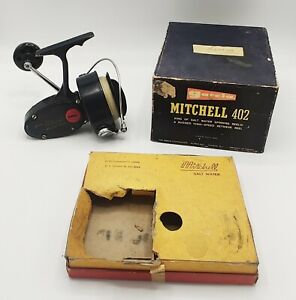 Garcia Mitchell 402 Spinning Reel w/ original box Nice Condition..Smooth Action