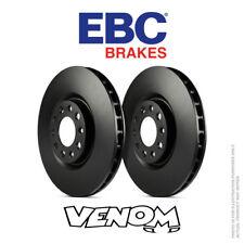 EBC OE Delantero Discos De Freno 266 mm para Citroen C-Elysee 1.2 72bhp 2012-D1047